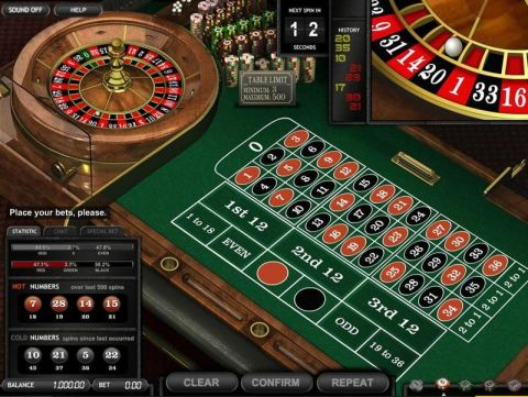 Common Draw Roulette, сделано BetSoft.