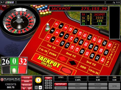 Roulette Royale, сделано Microgaming.