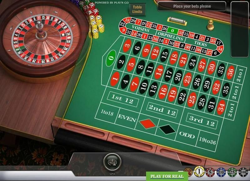 English Roulette, сделано Play'n GO.